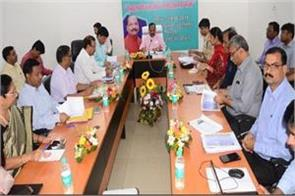 cm review meeting of development plans