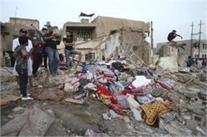 baghdad 16 people killed in explosion in arms depots