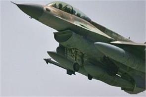 22 iraqi fighters die in israeli air strike in syria