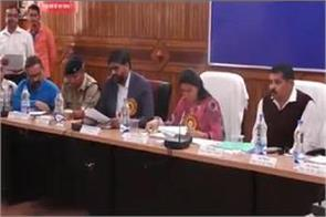 rekha arya approves the district plans in the meeting