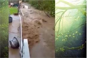 massive hailstorm floods in wuppertal germany