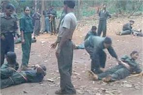 naxalites are taking special training to avoid the menace