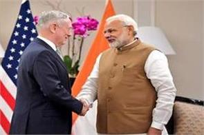us defence minister praises modi for warning about dangers of loans