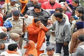 uma bharti reached badrinath dham
