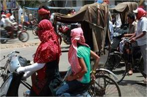 widespread heat wave in north india