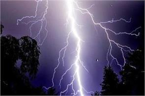 three died and 3 injured due to thunder fall in katihar