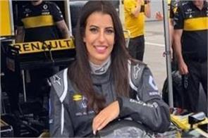 this woman ran the formula one racing car in saudi arab