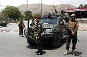 suicide attack in afghanistan  9 policemen killed