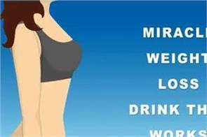 miracle weight loss drink that works