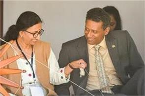 seychelles president visits ahmedabad