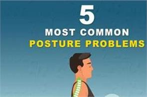 5 most common posture problems