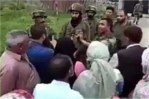 army officer  explaining kashmiris video viral