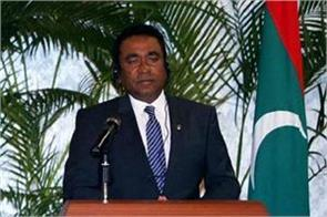 india disapproves of maldives s former president s punishment
