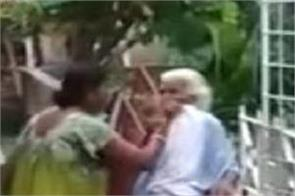 woman beats up mother in law