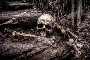 man accidentally digs up bones of partner s murdered ex husband