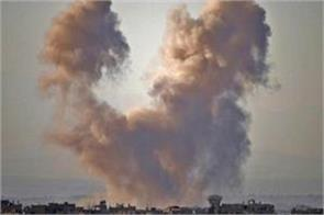 22 civilian deaths in air attacks on southern syria