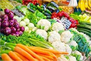 decrease in vegetable prices prices rise