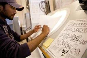 some creative cartooning is a better option in career