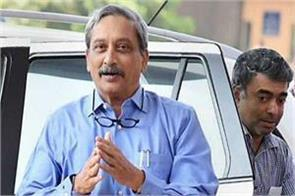 parrikar returns to goa after treatment with us will take charge soon