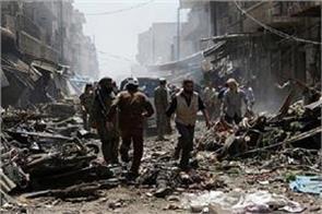 syrian 44 civilians die in russia s suspected attack