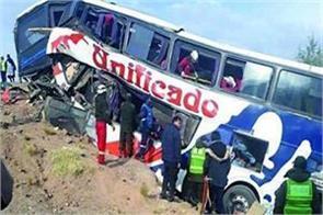 17 dead in bus accident in bolivia