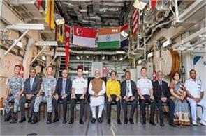 pm modi returned to delhi to travel to three countries