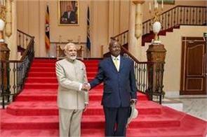 india gives uganda a loan facility of 200 million four agreements signed