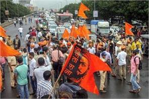 maratha reservation mumbai police detained more than 400 people