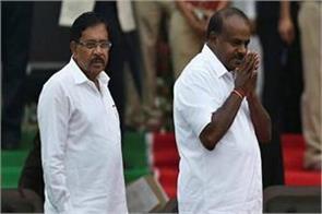 congress target on kumaraswamy cm should always be happy