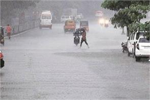 heavy rain from north india to west bengal