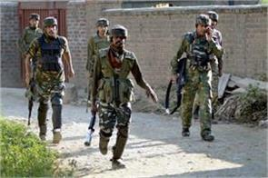 shopian encounter 5 6 terrorists are holed up in a house in kundalan area