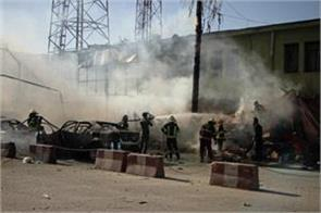 20 killed in suicide attack in afghanistan pm modi condemns