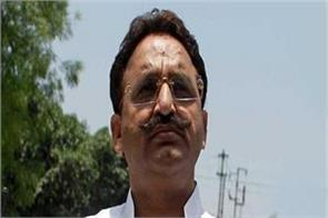 munna murder concerned about the safety of mukhtar ansari his family worried