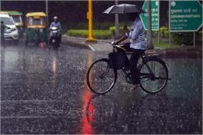 heavy rains in many states including delhi ncr