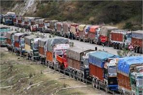 nationwide truck strike in india