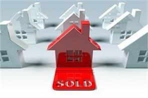house sales up 23 percent in april june quarter