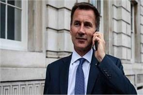 jeremy hunt to be britain s new foreign minister after johnson s resignation