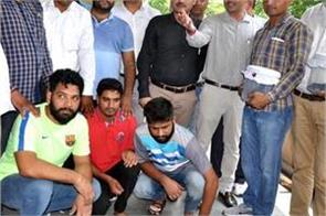 3 pistols and 47 live cartridges recovered from gangster bhupi rana