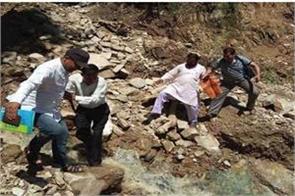 landslide due to cloudburst in chamoli