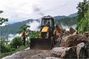 broken dame of sera hydro power project by cloud burst in pithoragarh