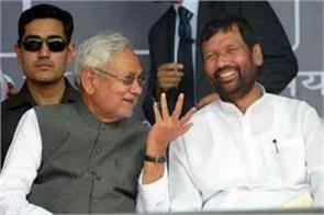 patna city ljp terms nitish and ram vilas only leaders in bihar
