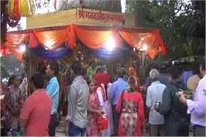 first monday of savan crowd of devotees in shiva temples