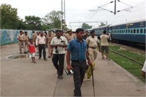 hoax bomb call on shramjeevi express in varanasi