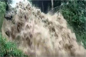 torrential rain in the last 24 hours in mussoorie