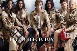to save the brand burberry himself burned 251 million goods