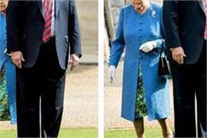 trump came to meet british monarch created controversy