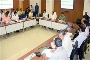 cm done review meeting with officials