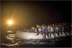 63 refugees missing in the mediterranean sea libyan navy
