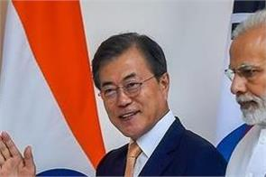 president of korea predicts about pm modi