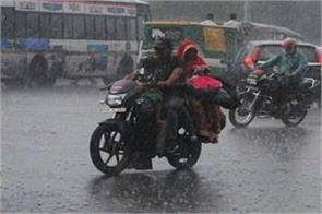 the meteorological department has forecast heavy rainfall in several districts